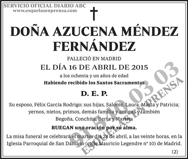 Azucena Méndez Fernández